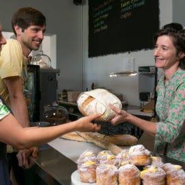 Milawa kitchen bread pedal to produce