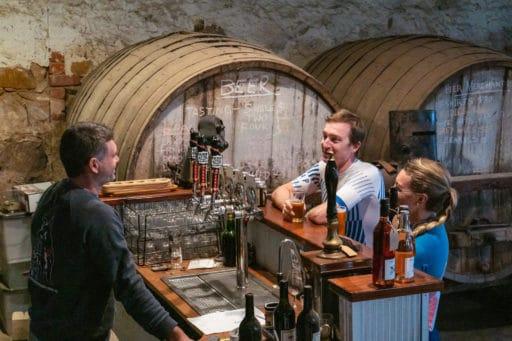 Booths Taminick cellars black dog brewery