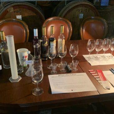 Pfeiffer Wines muscat experiene