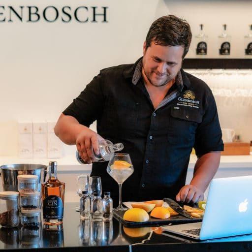 Glenbosch Gin zoom experience