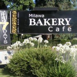 Milawa Bakery Cafe pedal to produce