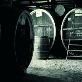 Morris Wines muscat barrel