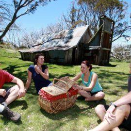 Wallaces Hut picnic