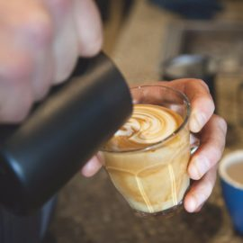 Their highly skilled barista team take care with every coffee sent out