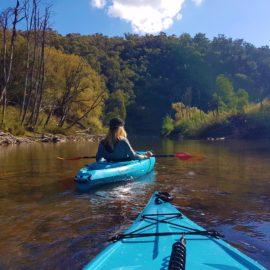 Kayak Hire at Jamieson Caravan Park