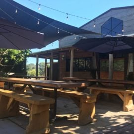 Mitta Mitta Brewing Co beer garden
