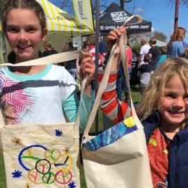 Art workshops for kids at Mansfield Farmers Market