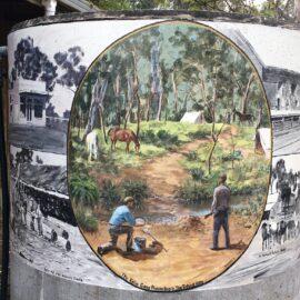 water tank art tatong