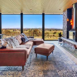 Stylish living lounge area