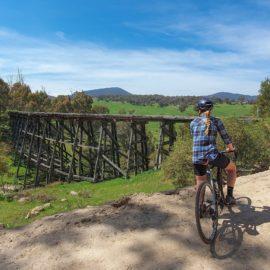 Trestle Bridge by the High Country Rail Trail