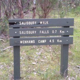 Salisbury Falls Signs