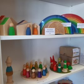 Mac and Milly  wooden toys