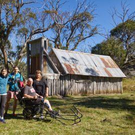 All Terrain Wheelchair at Wallace's Hut