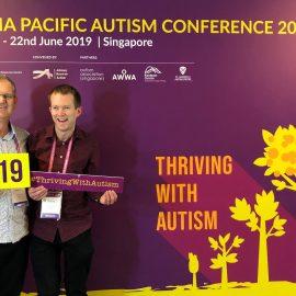 Daniel Giles OAM & Daryl Giles at APAC2019