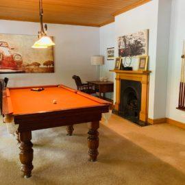 The Grange Homestead Snooker Room