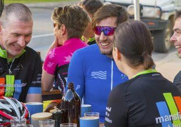 Mansfield Coffee Merchant Cyclists