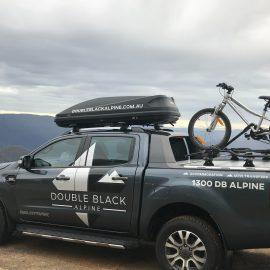 4WD with bike racks